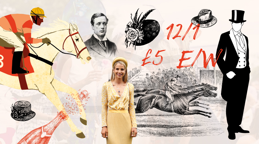 Photo montage of The Epsom Derby