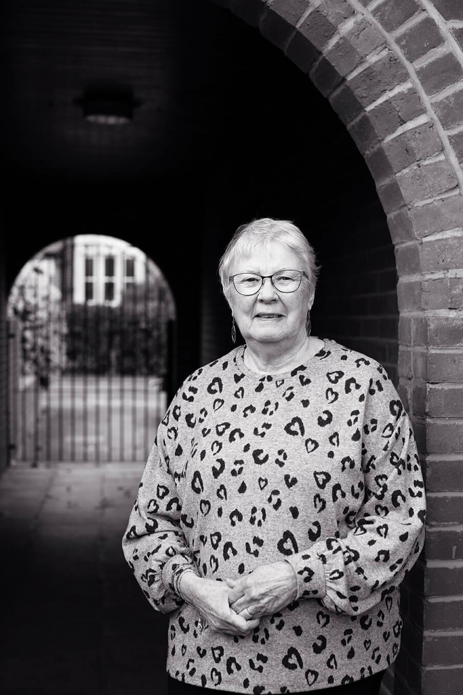 Portrait of Carol Burrage